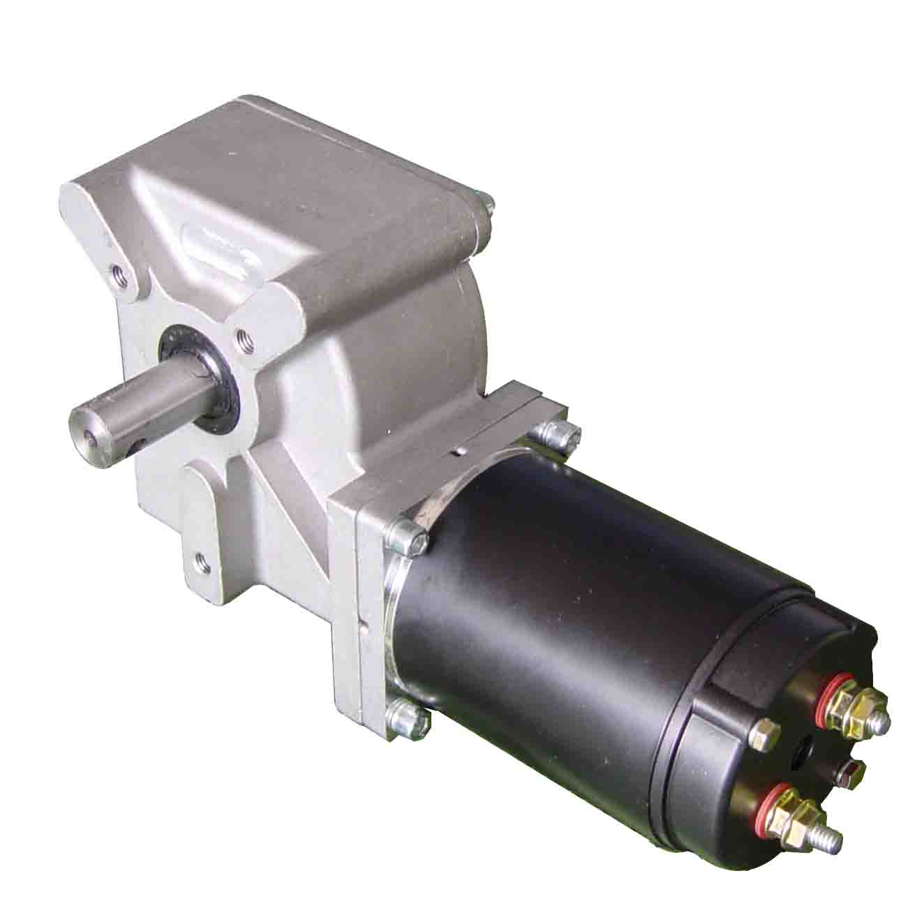 right angle gear motor dc worm gear motor by hengdian
