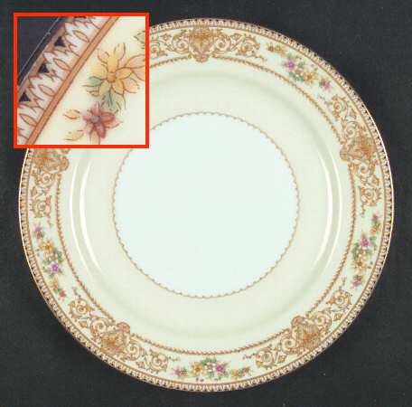 Noritake China Set 3830 York Pattern 89 pieces