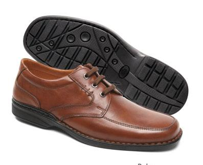 SHOES IN COW LEATHER- PU SOLE