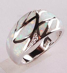 opal Leaf Ring YR00222