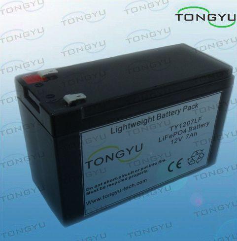 Eco-содружественный LiFePO4 пакет батареи 12V 7Ah для беспроволочной портат