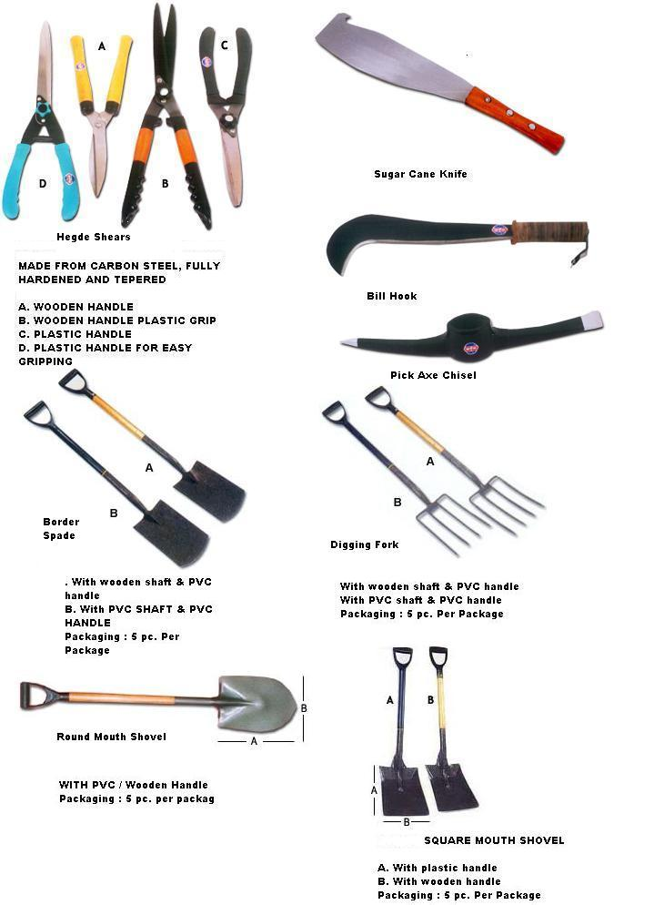 Garden tools by dhiman integral sales corporation india for Garden tools equipment sales