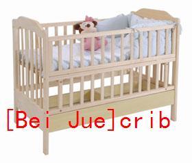 {Bei Jue} Wood Crib/Baby Cot/Baby Crib
