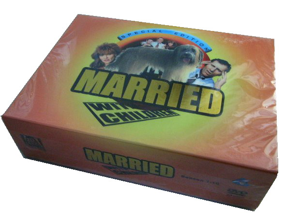 Married With Children Complete Seasons 1-11 DVD Boxset- FREE shipping