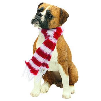 Christmas Tree Ornament - Dog Boxer By Sandicast, USA