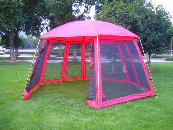Outdoor large screen tent 8 person tent 4by4metre & Outdoor large screen tent 8 person tent 4by4metre By Ningbo ...