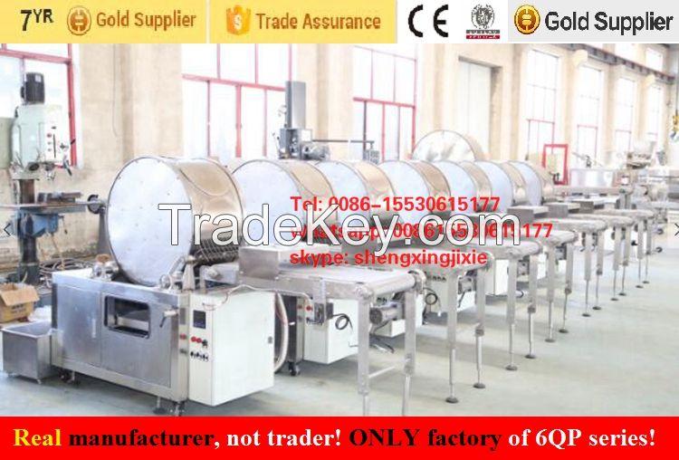 automatic high capacity spring roll sheets machine/ samosa pastry machine/injera machine/ crepes machine/ spring roll machine/ samosa machine ( manufacturer) Anna whatsapp:0086-15530615177