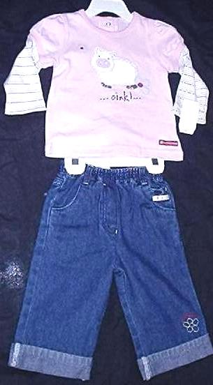 girls pants & Tshirts sets