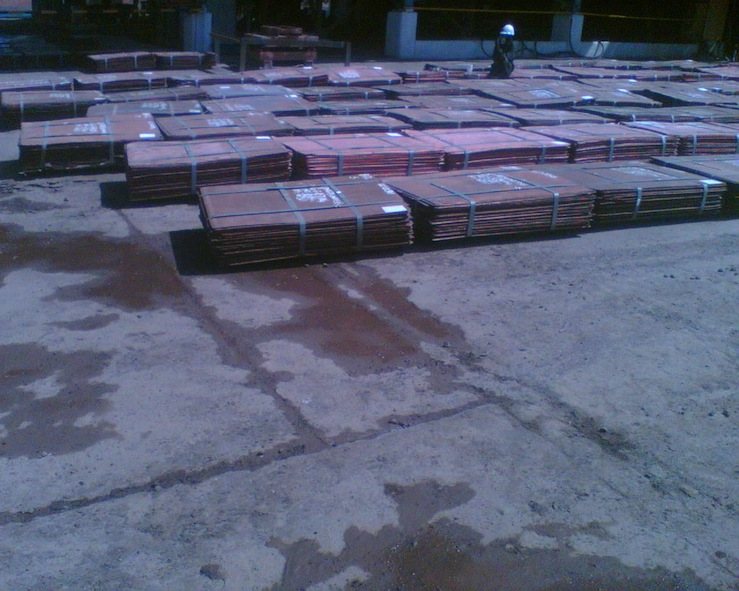 Gold and Copper Cathodes