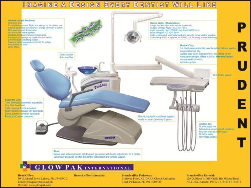 Buy Pakistani Dental Chair Unit Online From Glow Pak