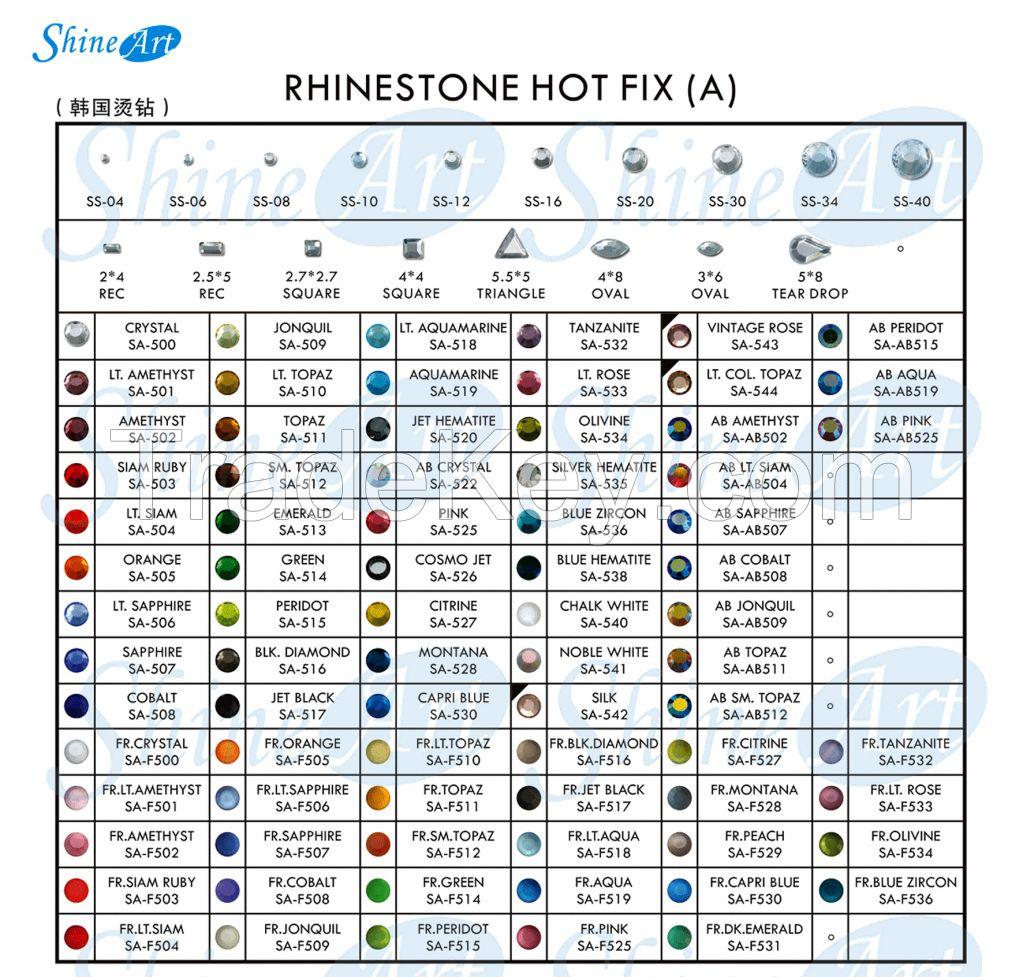 Rhinestone(A) Hot Fix