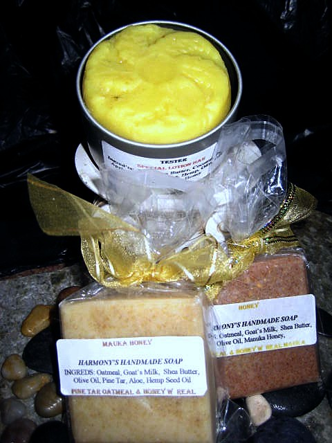 Harmony's soap for eczema, psoraisis, skin ailments