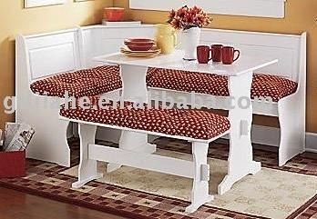 Breakfast Corner Nook/wood Dining Table