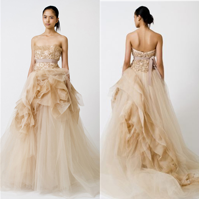 Vera wang wedding dress bride wars price christian for Price of vera wang wedding dress
