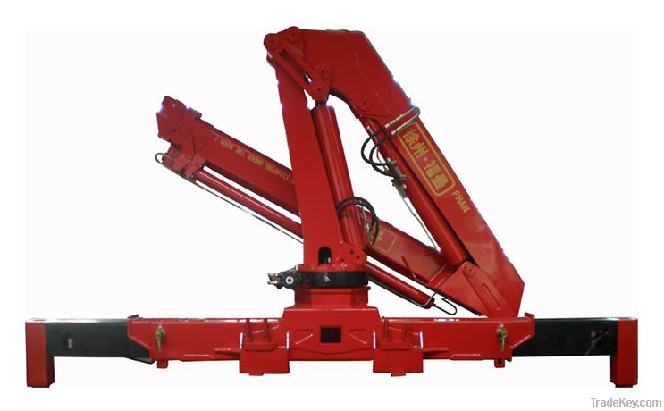 Knuckle Boom Cranes Manufacturers : Knuckle boom crane ton cranes tradekey
