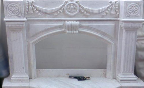 Curtain fireplace
