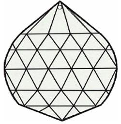 Machine Cut Crystal Ball