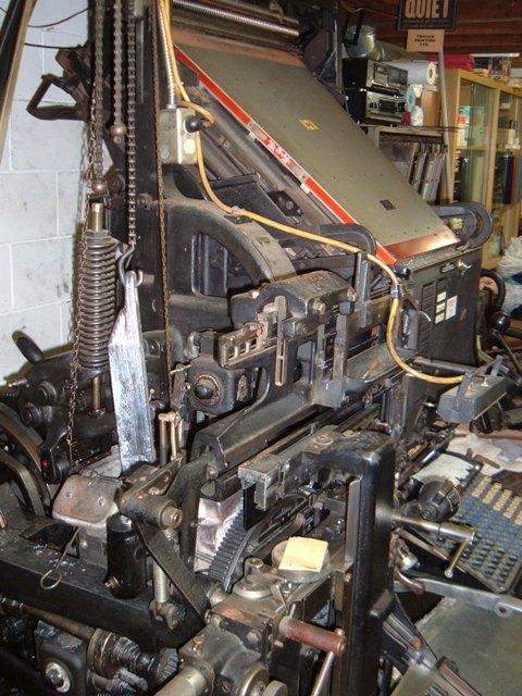 Vintage Printing Equipment