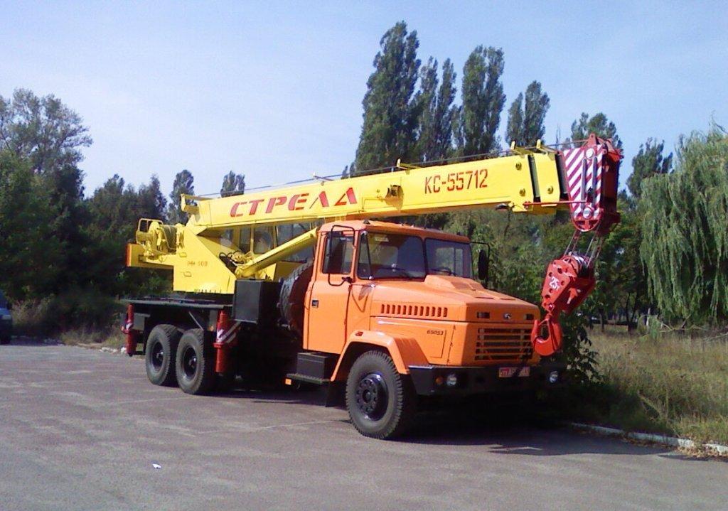 Truck Crane KrAZ