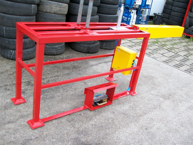 Small tyre doubling and undoubling machine COT-2