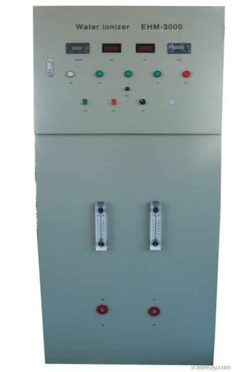 Industrial water ionizers