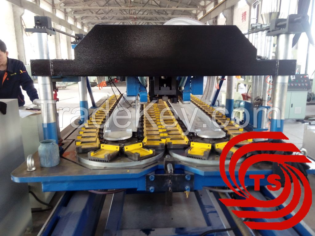 PE PVC Double Wall Corrugated Pipe Extrusion Line