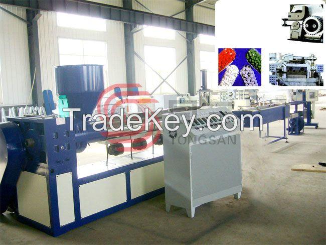 Plastic Cold Cut Granulating Production Line