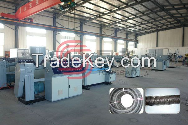 SJDKGZ Punching Spiral Corrugated Pipe Production Line
