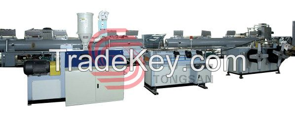 SJDBGZ Series Plastic Single-wall Corrugated Pipe Extrusion Line