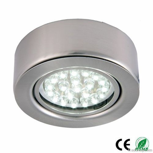 12V Round LED Under Cabinet Lights In Kitchen By China