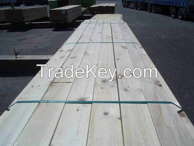 New Zealand Radiata Pine Timbers