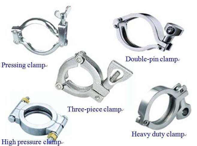 Sanitary tri clamp by wenzhou wei zhou light industry
