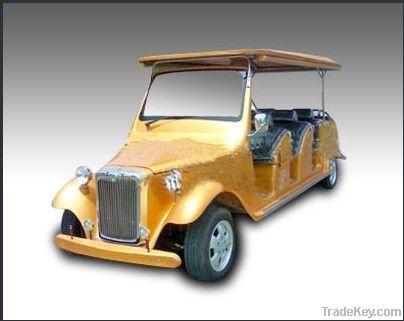 Electric street legal golf cart