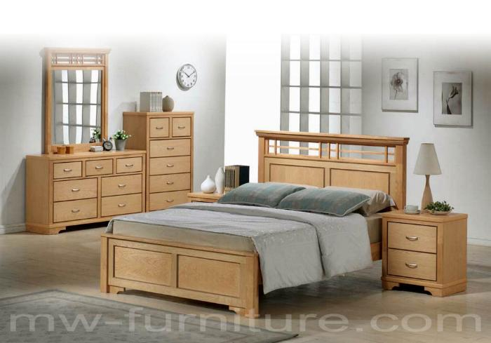 Malaysia Rubber wood bedroom set By MW Furniture Source, Malaysia