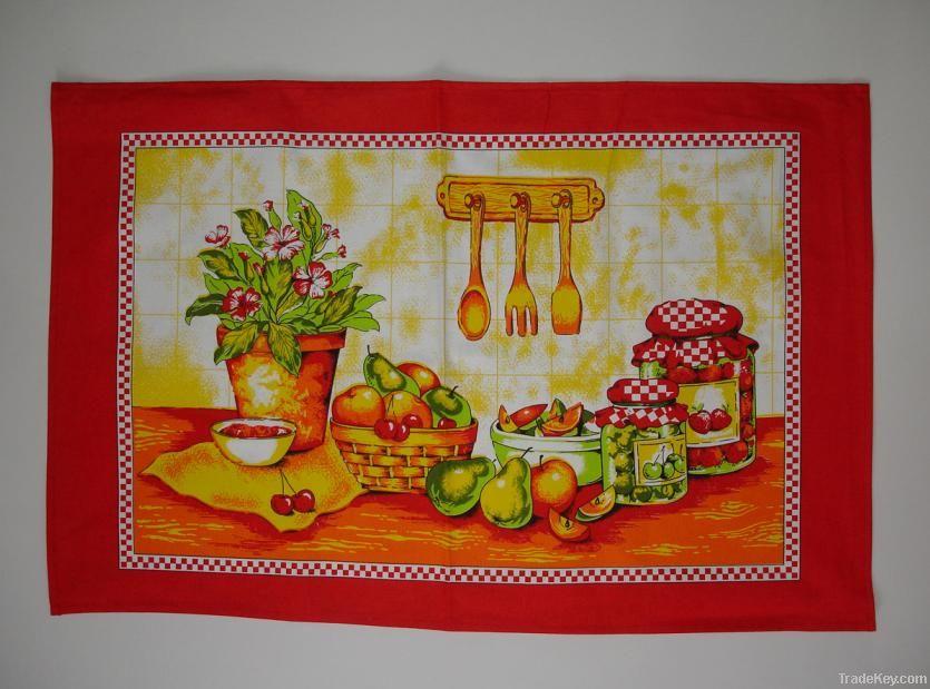 Kitchen Tea Towels (Cotton Printed)