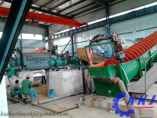 Extrac-Tec Gravity separation equipment for alluvial