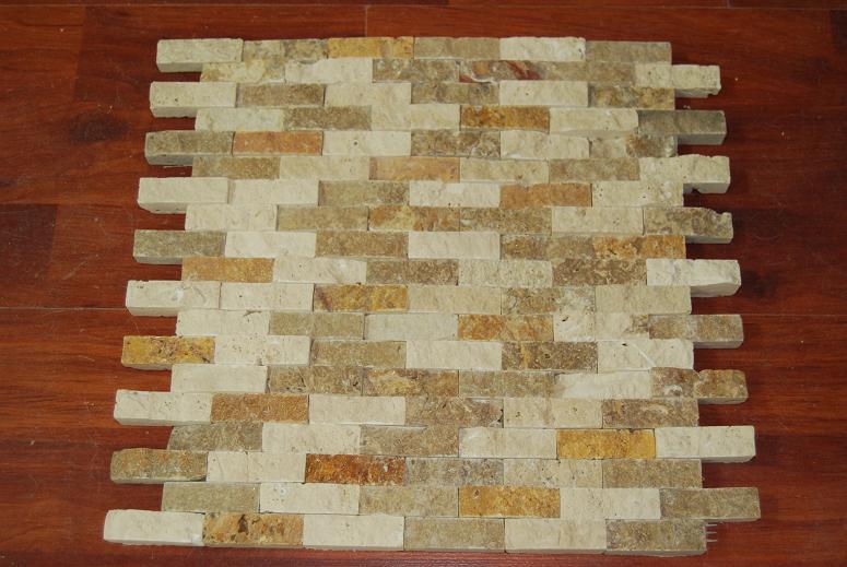 Mosaic Split Face