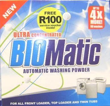 BIOMatic Ultra 1.5 KG Washing Powder