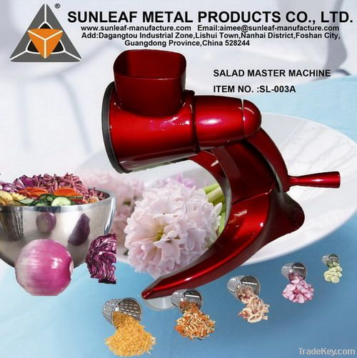china salad maker machine