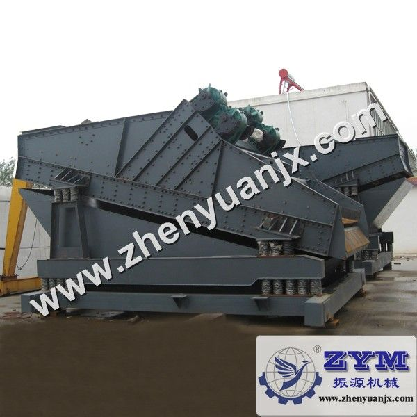 vibrating screen is a hot mining