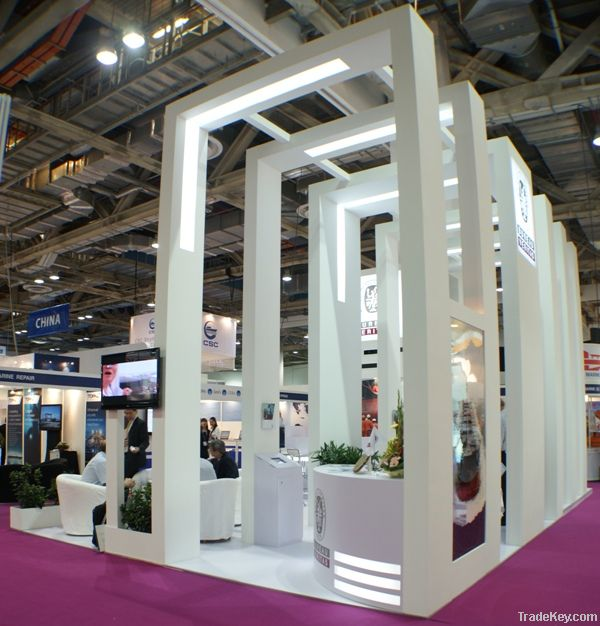 Exhibition booth builders : Exhibition booth design construction by unusual werks
