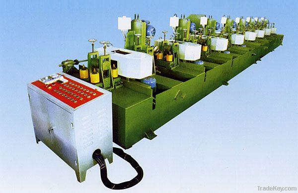 square pipe polishing machine