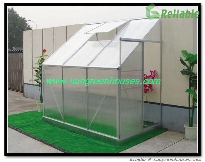 diy hobby garden lean to mini greenhouse kit