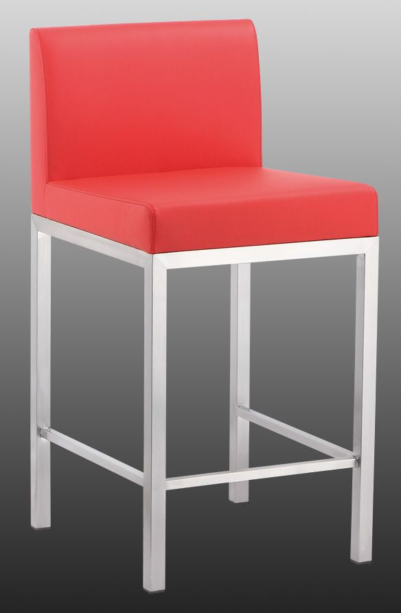 brushed stainless steel bar stool photo and picture on trade