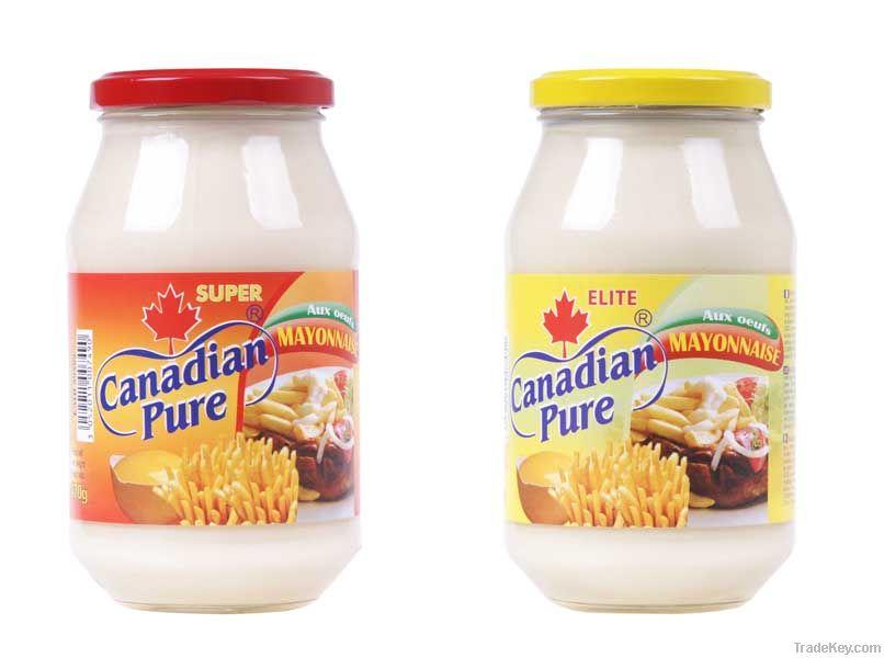 Canadian Pure Ketchup Mayonnaise By Nova Product Congo Drc