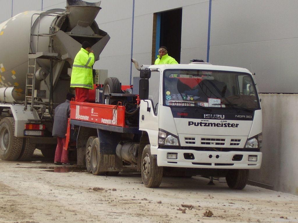 Truckmounted Concrete pump