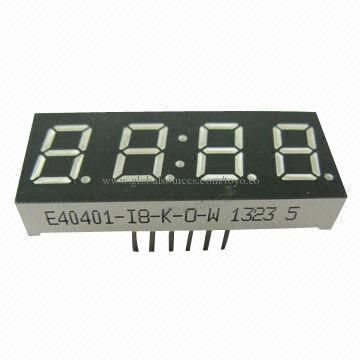 Four Digit 7-Segment Led Display