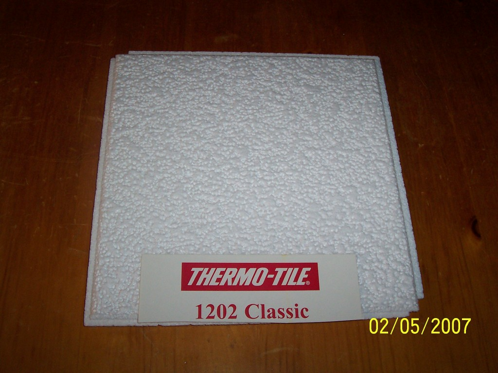 Thermo tile ceiling tile by king and company usa thermo tile ceiling tile doublecrazyfo Images