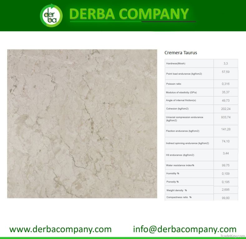 Cremera Taurus Floor Marble
