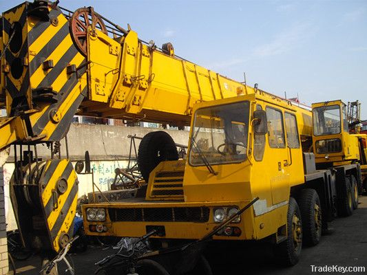 Used xcmg 50t mobile crane used truck crane tadano gt550e for Motors used in cranes